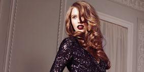 Arm, Hairstyle, Sleeve, Dress, Shoulder, Hand, Joint, Formal wear, Waist, One-piece garment,