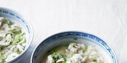 Food, Ingredient, Cuisine, Dishware, Recipe, Soup, Kitchen utensil, Dish, Cutlery, Porcelain,
