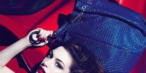 Lip, Red, Fashion, Eyelash, Carmine, Eye liner, Electric blue, Fashion model, Model, Long hair,