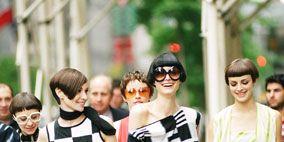Eyewear, Vision care, People, Textile, White, Style, Street fashion, Street, Headgear, Youth,