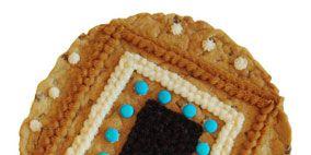 Brown, Textile, Pattern, Photograph, Crochet, Teal, Rectangle, Knitting, Aqua, Beige,