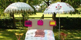 Flowerpot, Garden, Umbrella, Shade, Decoration, Houseplant, Yard, Outdoor table, Landscaping, Outdoor structure,