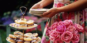 Serveware, Dishware, Cuisine, Food, Petal, Finger food, Sweetness, Pink, Dessert, Dish,