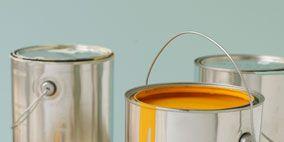 Liquid, Serveware, Amber, Orange, Metal, Tin, Baked goods, Dishware, Cylinder, Plate,