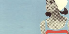 Elbow, Art, Chest, Waist, Abdomen, Trunk, Painting, Illustration, Undergarment, Animation,