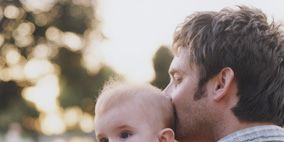 Head, Ear, Human, Cheek, People, Shoulder, Photograph, Child, Baby & toddler clothing, Interaction,