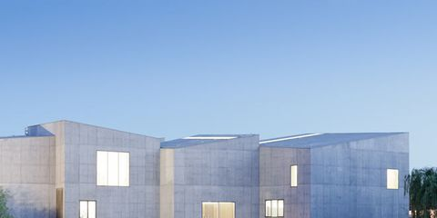 Blue, Reflection, Architecture, Facade, Real estate, Urban design, Commercial building, Azure, Design, Rectangle,