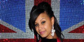 Hairstyle, Forehead, Eyebrow, Pattern, Earrings, Black hair, Electric blue, Cobalt blue, Body jewelry, Long hair,