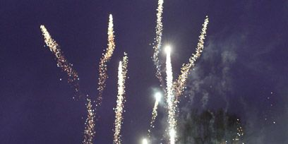 Atmospheric phenomenon, Midnight, Fireworks, Festival, Conifer, Pollution, New year's eve, New year,