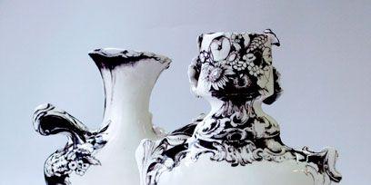 White, Artifact, Still life photography, Ceramic, Black-and-white, Porcelain, Serveware, Vase, Pottery,