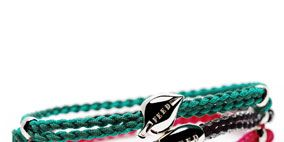 Jewellery, Fashion accessory, Pink, Magenta, Natural material, Fashion, Teal, Bracelet, Body jewelry, Turquoise,