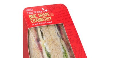Ingredient, Cuisine, Rectangle, Coquelicot, Snack, Baked goods, Label, Seafood, Sliced bread, Back bacon,