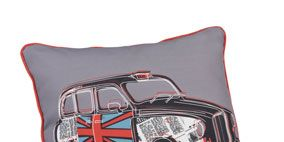 Product, Linens, Classic car, Hood, Kit car, Toy, Bedding, Active shirt, Concept car, Synthetic rubber,
