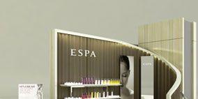 Product, Interior design, Room, Wall, Floor, Beauty, Lavender, Design, Shelf,