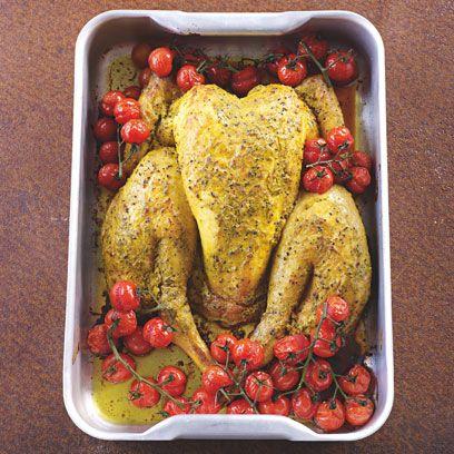 James Martin's spatchcock chicken