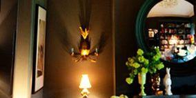 Lighting, Interior design, Room, Property, Lighting accessory, Interior design, Light fixture, Lamp, Lampshade, Flower Arranging,