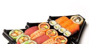 Cuisine, Food, Sushi, Meal, Finger food, Tableware, Gimbap, Dish, Serveware, Recipe,