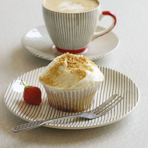 Cheesecake cupcake recipe | Hummingbird Bakery recipes