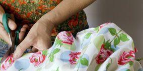 Textile, Pattern, Nail, Linens, Design, Pattern, Day dress, Creative arts, Floral design, Motif,