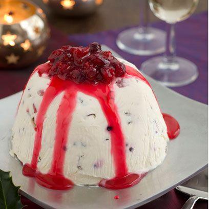 Christmas ice cream bombe recipe