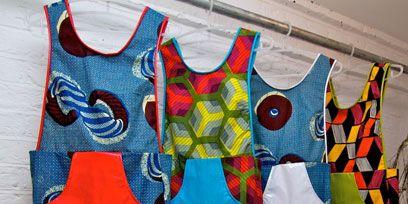 Blue, Textile, Pattern, Sleeveless shirt, Red, Carmine, Electric blue, One-piece garment, Visual arts, Fashion design,