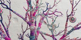Branch, Twig, Magenta, Purple, Pink, Colorfulness, Violet, Pattern, Art, Botany,