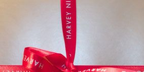 Ribbon, Red, Text, Font, Carmine, Maroon, Material property, Knot, Label, Coquelicot,