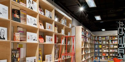 Shelf, Shelving, Publication, Collection, Ladder, Bookcase, Retail, Book, Plywood, Paper product,