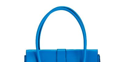 Blue, Product, Bag, White, Fashion accessory, Style, Electric blue, Luggage and bags, Aqua, Shoulder bag,