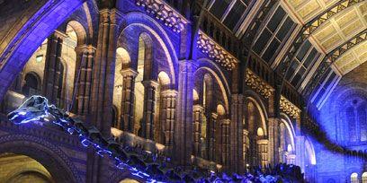 Blue, Architecture, Majorelle blue, Arch, Landmark, Purple, Electric blue, Arcade, Cobalt blue, Hall,