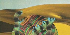 Textile, Art, Aeolian landform, Tartan, Sand, Illustration, Painting, Wind, Erg, Dune,