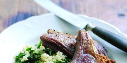Food, Ingredient, Cuisine, Meat, Recipe, Dishware, Leaf vegetable, Rack of lamb, Beef, Tableware,