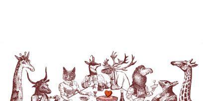 Organism, Illustration, Drawing, Artwork, Graphics, Pack animal,