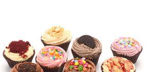 Sweetness, Food, Cupcake, Cuisine, Baked goods, Dessert, Baking cup, Recipe, Cake, Snack,