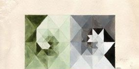 Pattern, Colorfulness, Art, Creative arts, Art paper, Triangle, Design, Paper, Symmetry, Visual arts,