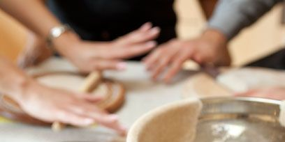 Hand, Food, Ingredient, Cuisine, Nail, Beige, Cook, Bowl, Dishware, Serveware,