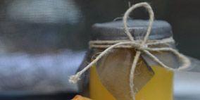 Yellow, Peach, Orange, Ingredient, Tan, Beige, Still life photography, Knot, Sorbetes, Cone,