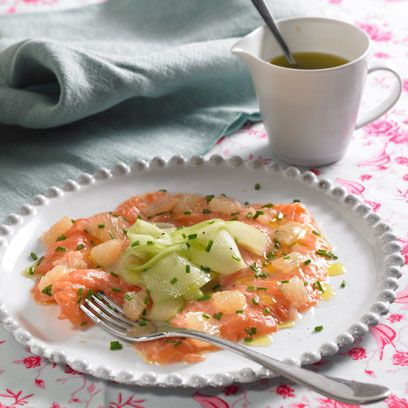 Dish, Food, Cuisine, Ingredient, Smoked salmon, Produce, Recipe, Seafood, Salmon, Shrimp,