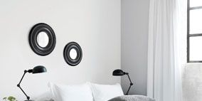 Product, Room, Bed, Interior design, Wall, Property, Bedding, Textile, Photograph, Bedroom,