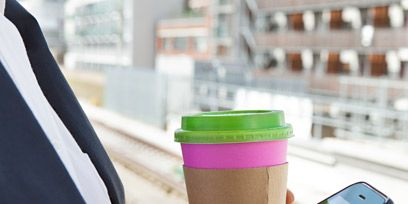 Finger, Display device, Communication Device, Mobile phone, Colorfulness, Portable communications device, Thumb, Technology, Coffee cup sleeve, Purple,