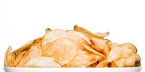 Cuisine, Yellow, Food, White, Junk food, Ingredient, Potato chip, Dish, Peach, Beige,