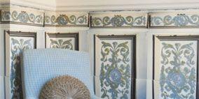 Blue, Room, Serveware, Wall, Furniture, Floor, Dishware, Interior design, Teal, Grey,