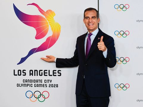 The Olympic Gold Won T Go To L A