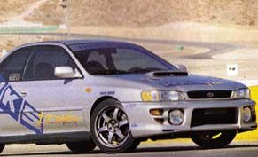HKS Impreza 2.5RS Turbo Specs