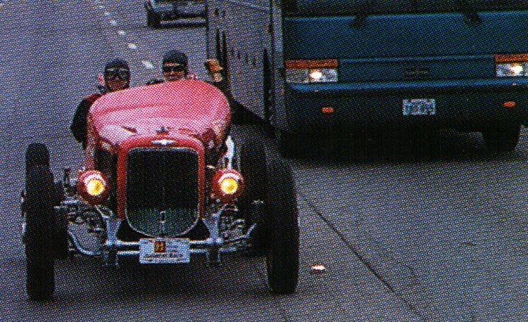 1320 Miles in a '30s Indy Car