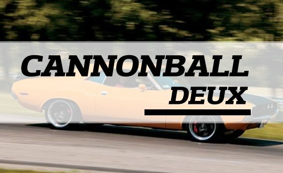 Cannonball Deux Draws Some Exotics. Cars, Too