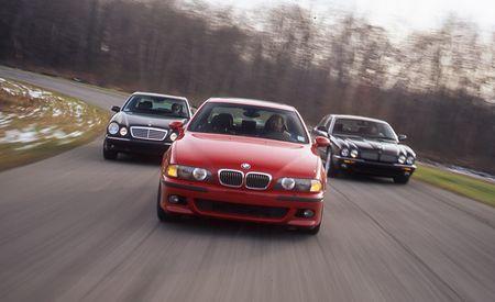 2000 BMW M5 vs. 2000 Mercedes-Benz E55 AMG, 2000 Jaguar XJR