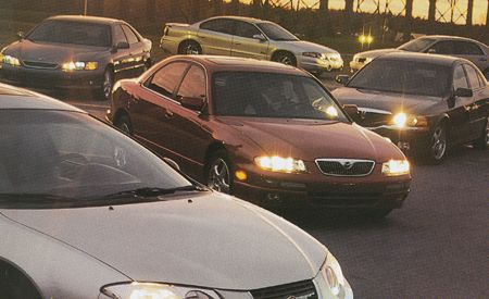 Acura 3.2TL vs. Chrysler 300M, Lexus ES300, Mazda Millenia S, and Five More Entry-Luxury Sedans