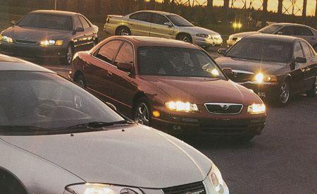 Acura 3.2TL vs. Chrysler 300M, Lexus ES300, Mazda Millenia S, and Five More Entry-Luxury Sedans
