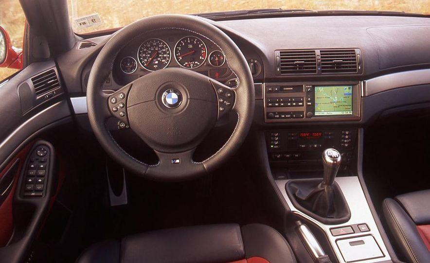 2000 Mercedes-Benz E55 AMG, BMW M5, and Jaguar XJR - Slide 12